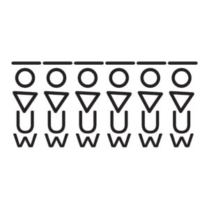סטיק שופ - סט מדבקות טפט ברגע - צורות גאומטריות