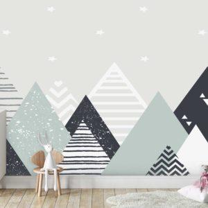 טפטים לחדרי ילדים - הרים יובל