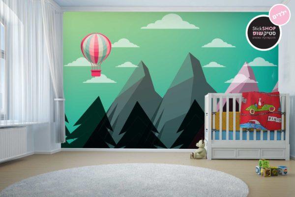 טפטים לחדרי ילדים - הרים ביער