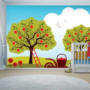 טפטים לחדרי ילדים - פארק