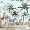 טפטים לחדרי ילדים - גן חיות 3