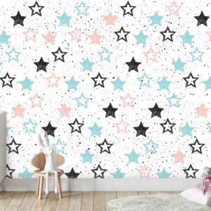 טפטים לחדרי ילדים - כוכבים קים