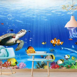 טפט לקיר חדרי ילדים ונוער - 0106