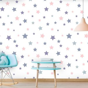 טפט לקיר חדרי ילדים ונוער - 2855