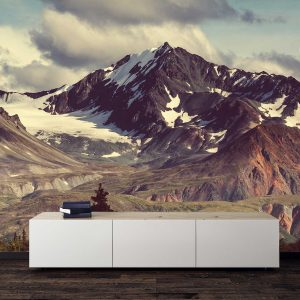 סטיק שופ - טפט טבע הרים מושלגים