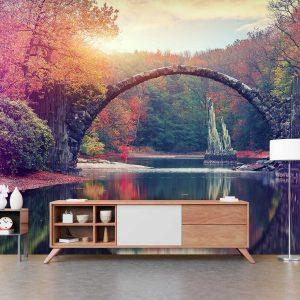 סטיק שופ - טפט טבע גשר ביער