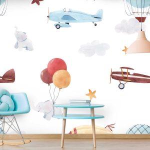 טפט לקיר חדרי ילדים ונוער - 9499