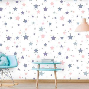 טפט לקיר חדרי ילדים ונוער - 9846