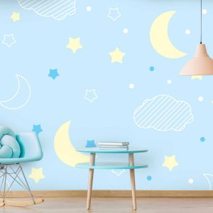 טפט לקיר חדרי ילדים ונוער - 9906