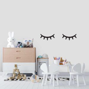 סטיק שופ - מדבקות קיר - לחדרי תינוקות - עיניים