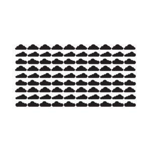 סטיקשופ - מדבקות קיר - טפט ברגע - עננים 2