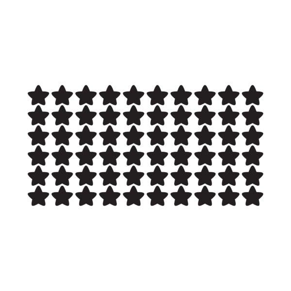 סטיק שופ - סט מדבקות קיר טפט ברגע - כוכבים 2