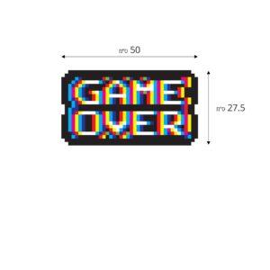 סטיקשופ - מדבקות קיר - לחדרי ילדים - Game over