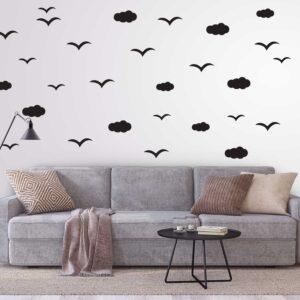 סטיקשופ - מדבקות קיר - ציפורים נודדות