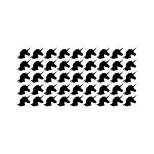 סטיקשופ - מדבקות קיר - טפט ברגע - חד קרן