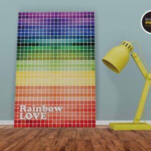 סטיקשופ - פוסטרים - Rainbow love