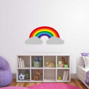 סטיקשופ - לחדרי תינוקות - קשת בענן