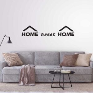 סטיקשופ - מדבקות קיר - Home sweet home