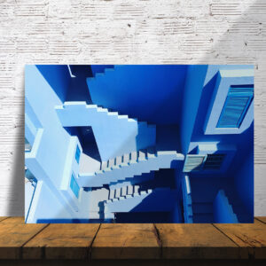 סטיקשופ - פוסטרים - מדרגות כחולות