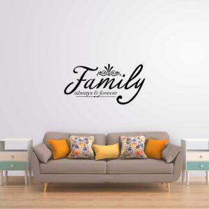 סטיקשופ - מדבקות קיר - Family