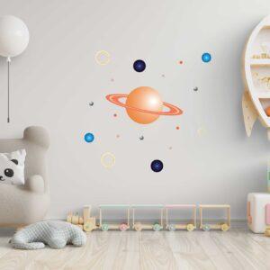 סטיקשופ - מדבקות קיר - גלקסיה