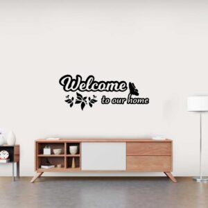 סטיקשופ - מדבקות קיר - Welcome to our home