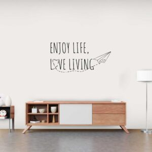 סטיקשופ - מדבקות קיר - Enjoy life