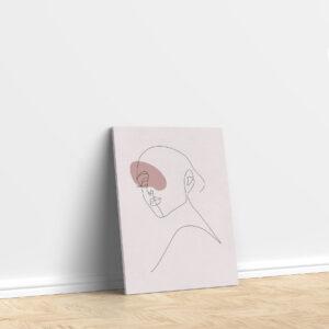 סטיקשופ - פוסטרים - אישה מינימליסטי 1