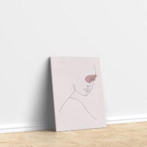 סטיקשופ - פוסטרים - אישה מינימליסטי 2