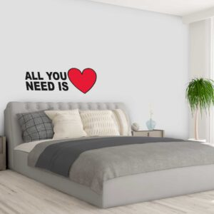 מדבקות קיר - All you need is love