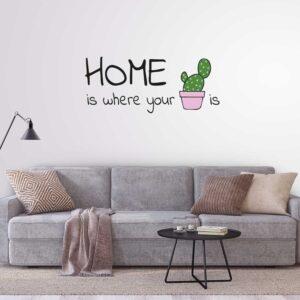 מדבקות קיר - 2 Home is