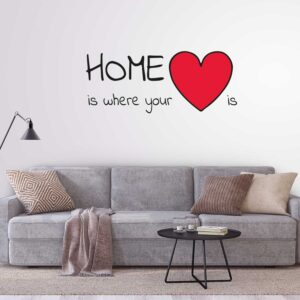 מדבקות קיר - Home is