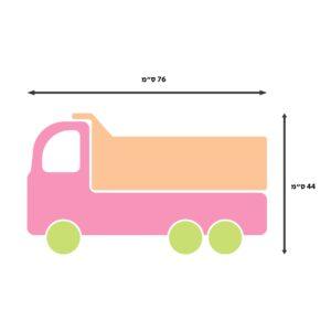 מדבקות קיר - משאית