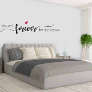 מדבקות קיר - Forever