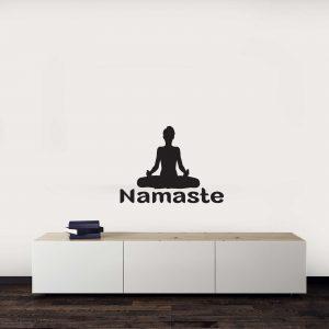 מדבקות קיר - Namaste