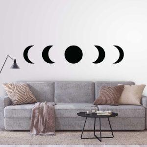 מדבקות קיר - Moon phases