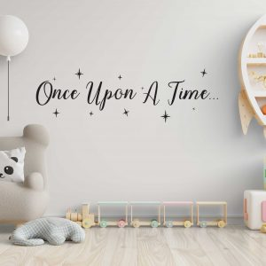 מדבקות קיר - Once upon a time